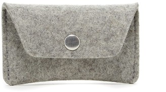 Graf Lantz Card Wallet Granite Felt