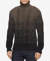 Calvin Klein Jeans Men's Ombré Turtleneck Sweater