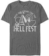 Fifth Sun Men's Tee Shirts CHAR - Hell Fest Carnival Rides 'Where Your Screams Come True' Tee - Men