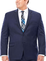 COLLECTION Collection by Michael Strahan Navy Tic Jacket - Big & Tall