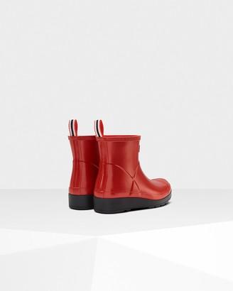 Hunter Women's Play Short Pearlised Wellington Boots