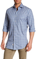 Peter Millar Norton Glen Plaid Sport Shirt