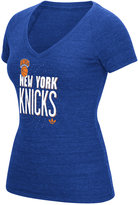adidas Women's New York Knicks Stretched Type T-Shirt