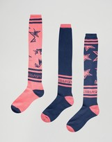 adidas x Stella Sports 3 Mix And Match Knee Socks