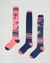adidas x Stella Sports 3pack Knee Socks