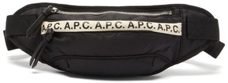 A.P.C. Lucille Logo-trim Belt Bag - Black
