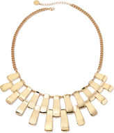 Liz Claiborne Gold-Tone Bar Collar Necklace