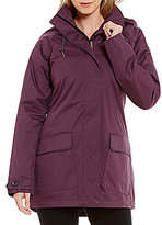 Columbia Lookout Crest Hooded Rain Jacket