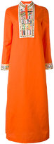 Tory Burch slit sides shift dress - women - Cotton/Linen/Flax/Polyester - 10