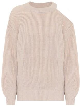 Velvet Adrienne metallic sweater