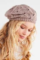 Urban Outfitters Open Knit Beret