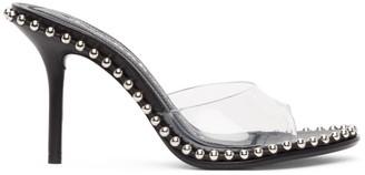 Alexander Wang Black Nova 85 Heeled Sandals