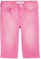 Celebrity Pink Colored Denim Skimmer Shorts, Big Girls (7-16)