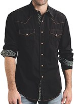 Roper Contrast-Stitch Western Shirt - Snap Front, Long Sleeve (For Men)