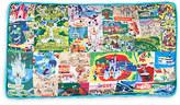Disney Magic Kingdom Map Pillow