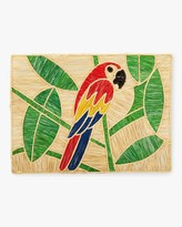 Mercedes Salazar Home Set-Of-Two Handmade Macaw Raffia Placemats