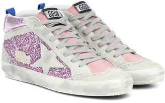 Golden Goose Mid Star embellished sneakers