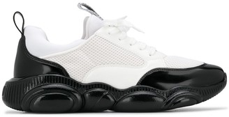 Moschino optical Teddy low-top sneakers