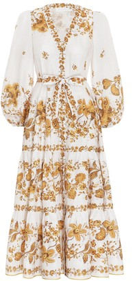 Zimmermann Amelie Gathered Tier Dress