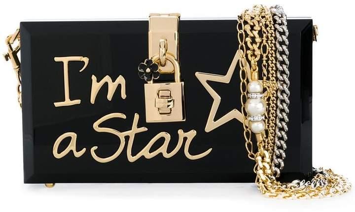 Dolce & Gabbana Dolce applique clutch