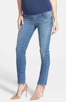 Maternal America Women's Maternity Skinny Ankle Jeans