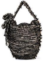 Simone Rocha frayed woven shoulder bag