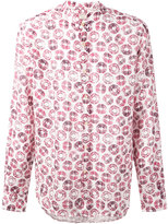 Xacus circle print shirt