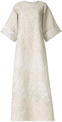 Bambah Rosa kaftan gown