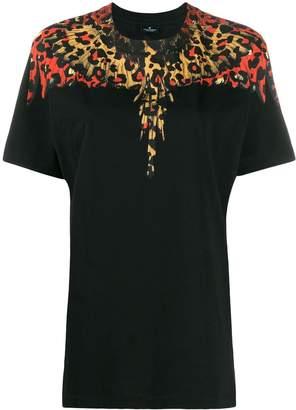 Marcelo Burlon County of Milan Leopard Wings print T-shirt