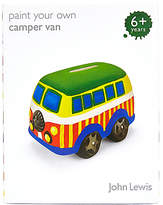 John Lewis Paint Your Own Camper Van Money Box