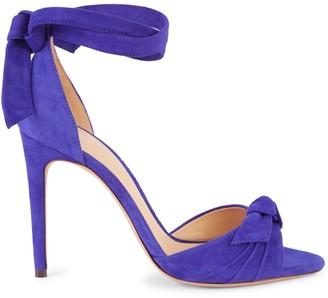 Alexandre Birman Suede Ankle-Strap Sandals
