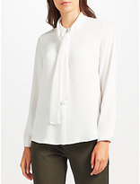 John Lewis Louise Tie Neck Blouse