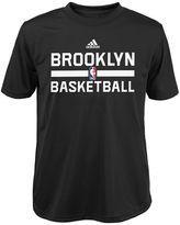 adidas Boys 4-7 Brooklyn Nets Practice climalite Tee