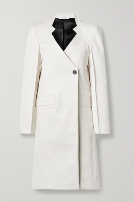 Peter Do Cotton Coat - White