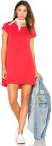 Michael Lauren Cuba T Shirt Dress in Red. - size S (also in XS)