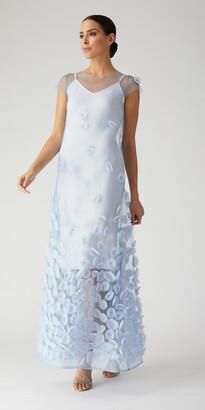 Nardos Couture Circle Flowers Overlay w/ Cami
