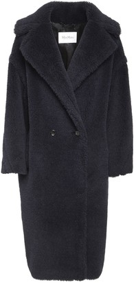 Max Mara Teddy Alpaca Wool & Silk Coat