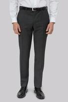 DKNY Slim Fit Black & White Pindot Pants