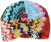 Missoni Mare Multicolored Crochet-Knit Turban