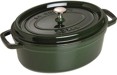 Staub Wide Oval Cocotte, 4 quart