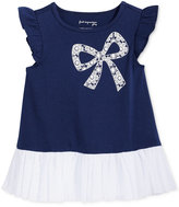 First Impressions Bow & Tulle Peplum Tunic, Baby Girls (0-24 Months), Only At Macy's