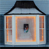 Asstd National Brand The Window Wonder Frame Kit For Mini Christmas Lights 4 Rod Pack
