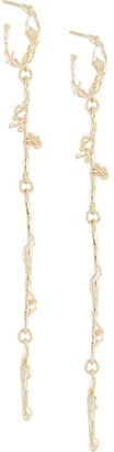 Lemaire Abstract Chainlink Earrings