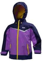 Helly Hansen Toddler Girl's 'K Shelter' Water Resistant & Windproof Jacket