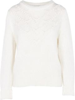 Suncoo Knitted Sweater Pamela White - xsmall