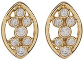 Melinda Maria Allison CZ Cluster Stud Earrings