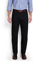 Classic Men's Comfort Waist Colored Jeans-Black
