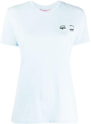 Chiara Ferragni Flirting embroidered-eye T-shirt