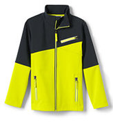 Classic Little Boys Softshell Jacket-Vibrant Zest