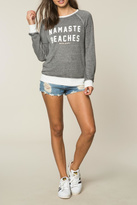 Spiritual Gangster Namaste Beaches Sweatshirt